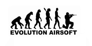 Evolution Airsoft Sticker