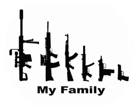My family Sticker