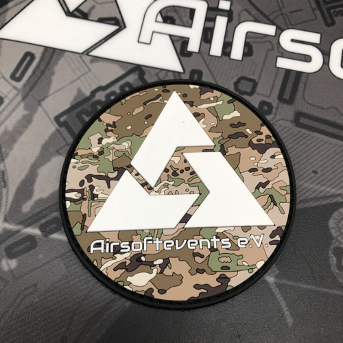 Airsoftevents e.V. mc - 3D Rubber Patch