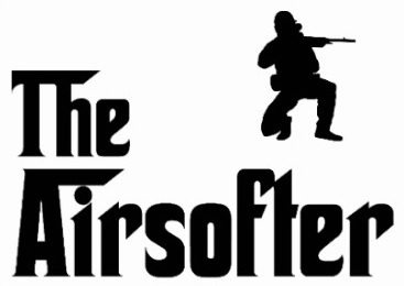 The Airsoftler Sticker