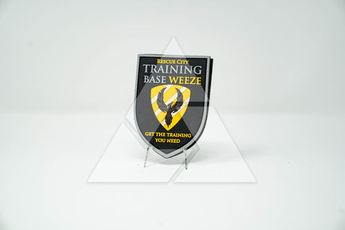 TrainingBase Weeze - 3D Rubber Patch